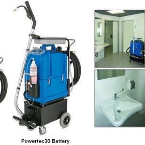 Limpieza y sanitización de aseos